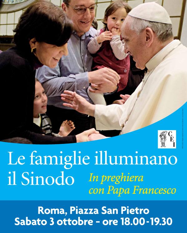 3 ottobre: Le famiglie illuminano il Sinodo