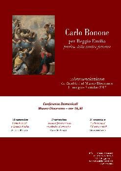 Ciclo di conferenze su Carlo Bonone