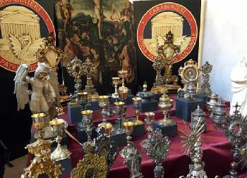 Recuperati oltre 100 beni trafugati da chiese e istituti religiosi