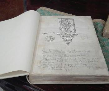 Cinque antichi volumi del 1400 digitalizzati e fruibili sul web